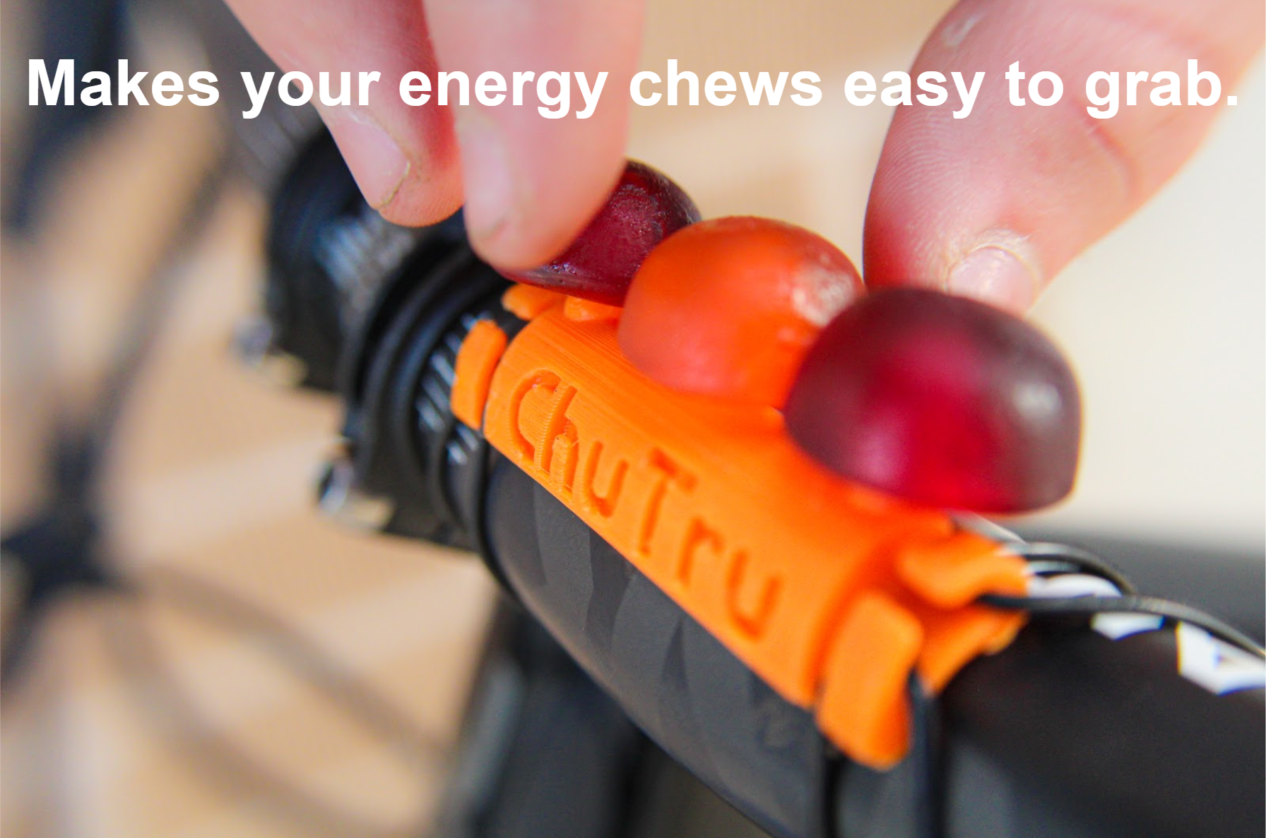 Makes your energy chews easy to grab.